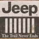 Jeep Logo tin sign #1431