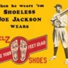 Shoeless Joe Jackson tin sign #55