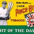 Babe Ruth tin sign #59