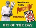 Babe Ruth tin sign #59