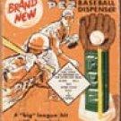 PEZ Baseball tin sign #1445