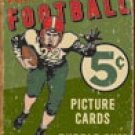 Topps Football tin sign #1406