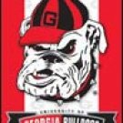 Georgia Bulldogs tin sign #1361