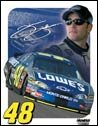 Jimmie Johnson Nascar tin sign #1351