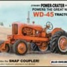 Allis Chalmers tractor tin sign #1167