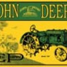 John Deere tractor  tin sign #668