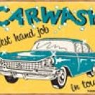 Carwash HandJob tin sign #1190