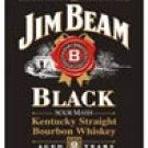 Jim Beam tin sign #1066