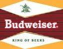 Budweiser Beer tin sign #1247