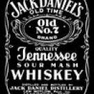 Jack Daniels tin sign #780