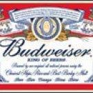 Budweiser Beer tin sign #979