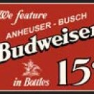 Budweiser Beer tin sign #995