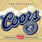 COORS Beer tin sign #1309