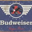 Budweiser Beer tin sign #1383