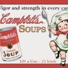 Campbell Soup tin sign #970