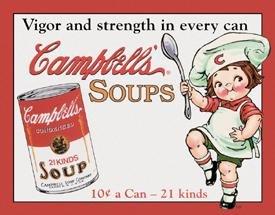 Campbell Soup tin sign #970