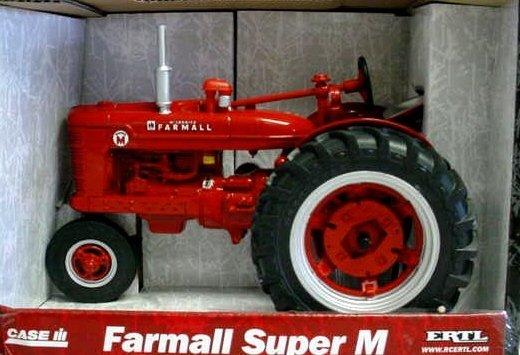 International Harvester Farmall Super M Diecast Tractor