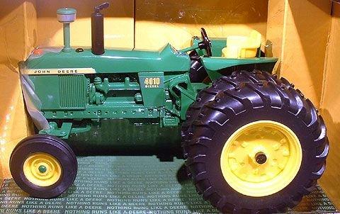 Ertl John Deere 4010 Diecast Tractor ( Wide Fr + Duals)