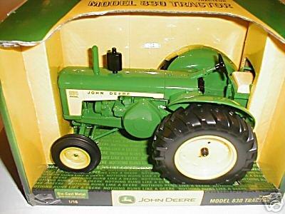Ertl John Deere 830 Diecast Collectible Tractor 1:16