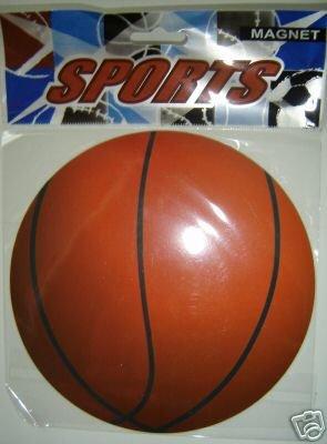 (3) BasketBall Car Magnets