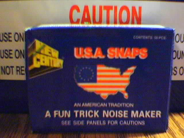 (50) Boxes Snap Pop Noise Makers ( With Display Box )