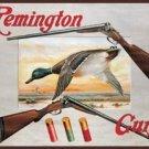 Remington Shot Guns & Duck Tin Sign #1002