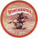 Winchester Express Round Tin Sign #975