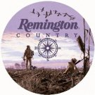 Remington Country Round Tin Sign #974