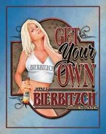 BierBitzch Tin Sign #1461