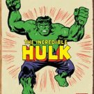 Incredible Hulk Tin Sign #1438