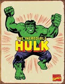 Incredible Hulk Tin Sign #1438