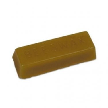 PURE DARK BEESWAX 10 OZ BAR SHAPE ALL NATURAL FILTERED BEE WAX FREE SHIPPING !