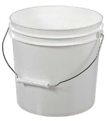 17 Lb ( pounds ) net wt WILDFLOWER Really Raw Natural Honey Pail / Bucket