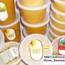 100% RAW PURE NATURAL WILDFLOWER HONEY FROM BEEKEEPER 4 pounds ( net. wt. 4 Lb)