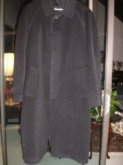 HICKEY-FREEMAN COLLECTION MEN'S OVERCOAT - SIZE 44R - LIKE NEW!!