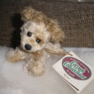 Ganz Cottage Collectibles Puppy Dog ~ Rover ~ scruffy fur and floppy head ~ SWEET!