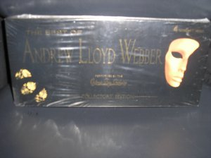 THE BEST OF ANDREW LLOYD WEBBER COLLECTOR'S EDITION 4 CD Set!