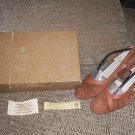 GUCCI  CINNAMON RUST SUEDE SHOES PUMPS -100% AUTHENTIC!