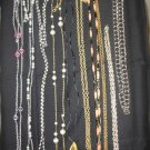 JEWELRY LOT of 160+ NECKLACES + - VINTAGE, FORTUNE COOKIE w/ FORTUNE, DAFFY DUCK and MORE!