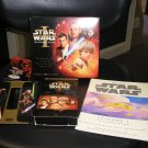 STAR WARS THE PHANTOM MENACE WIDESCREEN VIDEO COLLECTOR'S EDITION (VHS) (PAPERBACK) SET!