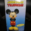WALT DISNEY MICKEY MOUSE TELEPHONE - BRAND NEW IN THE BOX, FROM 1988!