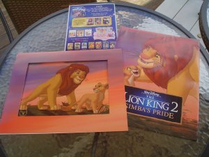 Walt Disney The Lion King 2 Simba S Pride Exclusive Commemorative Lithograph From 2004