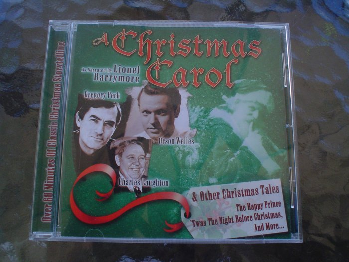 Christmas Carol & Other Christmas Tales-CD-narrated by Lionel Barrymore,Orson Welles & Bing Crosby!