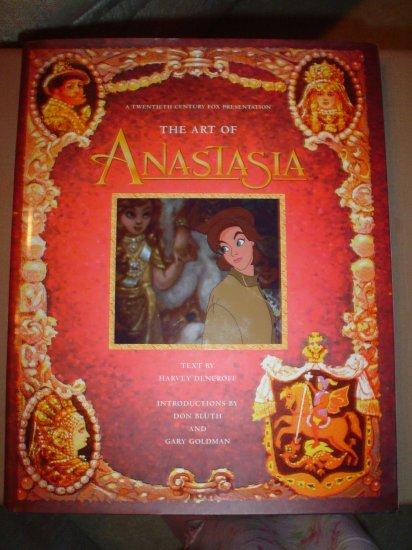 THE ART OF ANASTASIA: A TWENTIETH CENTURY FOX PRESENTATION by HARVEY DENEROFF, DON BLUTH - NEW!