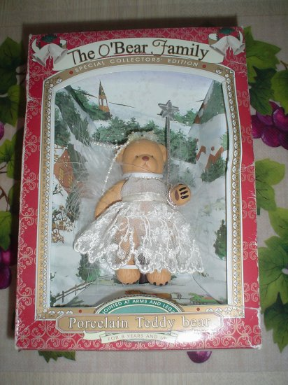 THE O'BEAR FAMILY SPECIAL COLLECTORS EDITION PORCELAIN doll TEDDY BEAR - BRAND NEW!