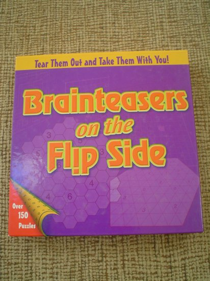 BRAINTEASERS ON THE FLIP SIDE (HARDCOVER) book by Michael Rios & Dave Tuller!