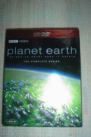PLANET EARTH: THE COMPLETE SERIES - 4 HD DVD SET!