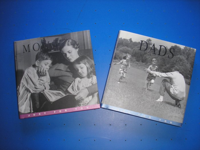 MOMS: JUST FOR YOU AND DADS: JUST FOR YOU SET OF HARDCOVER BOOKS by DAVID BAIRD - GREAT GIFTS!
