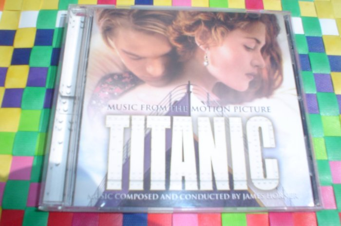 TITANIC:MUSIC FROM THE MOTION PICTURE [SOUNDTRACK] JAMES HORNER (COMPOSER),CELINE DION CD-LIKE NEW!