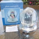 PRINZ GIFT COLLECTION PHOTO WATER GLOBE - 100MM with IRIDESCENT GLITTER - BRAND NEW!